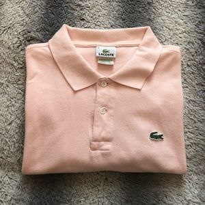 🐊 Lacoste Polo Shirt Men's 6 Pink